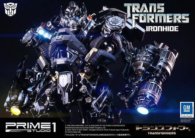 Prime 1 Studio 變形金剛【鐵皮】IRONHIDE 全身雕像