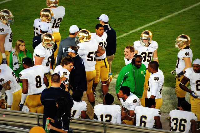 #StanfordCardinal  vs #NotreDame ( #FightingIrish )
