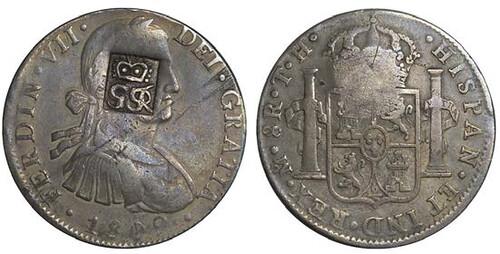 Lot 793 British Honduras. Fantasy British Colony 6 Shillings