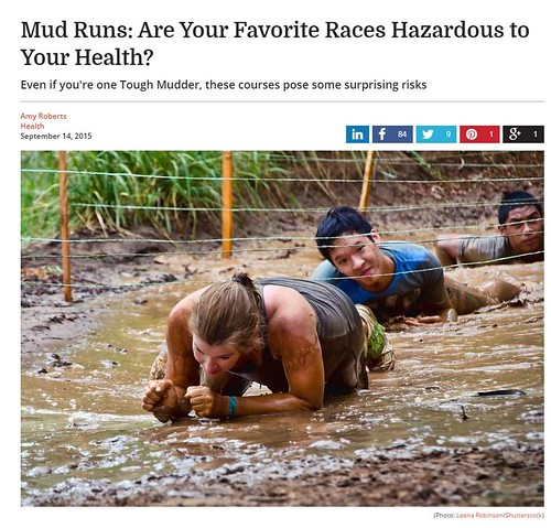 Dr. Joel Schlessinger discusses the dangers of mud runs with SafeBee.com