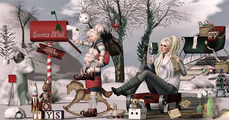 Amelie et les petites: Santa Mail