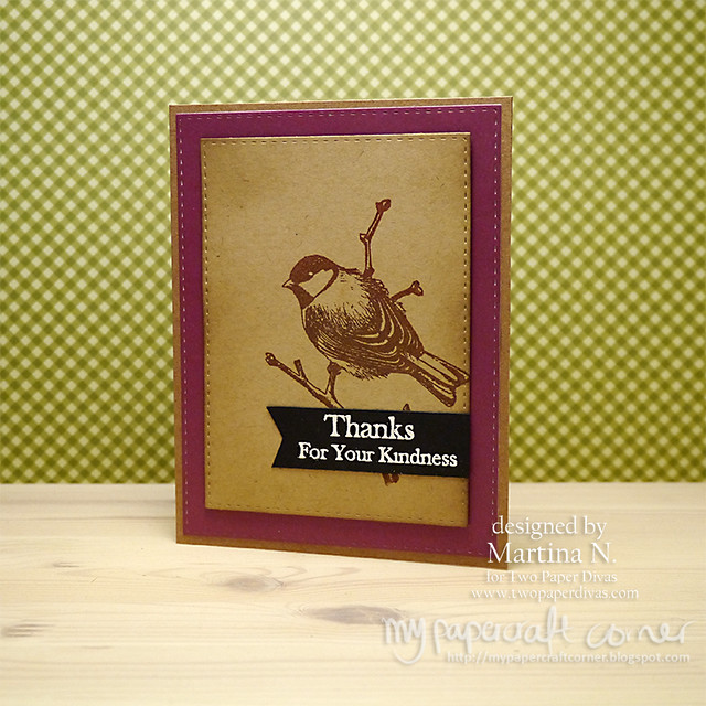 Thank you card #389