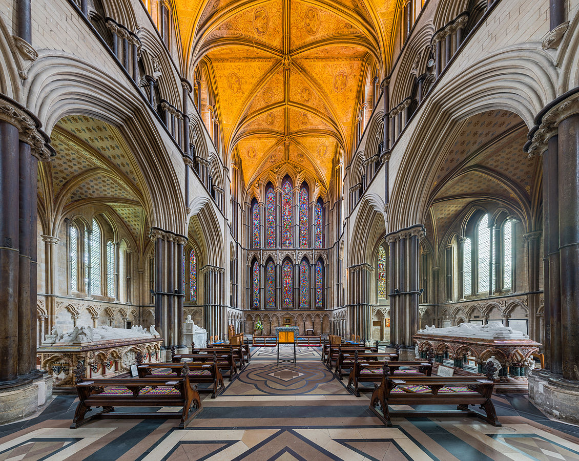 Worcester Cathedral - The lady chapel and east window. Credit: David Iliff