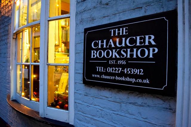 The Chaucer Bookshop, Canterbury | www.rachelphipps.com @rachelphipps