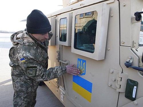 Ukraine Receives First Batch Of US Military Humvees