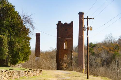 Glendale Mill Ruins