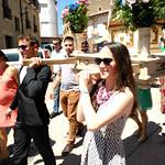 San Cristobal 2015 en Baños de Ebro