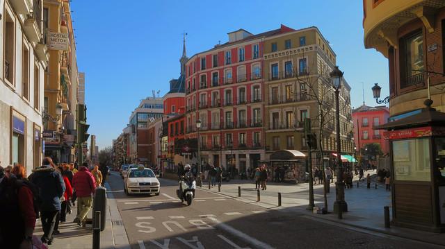 Plaza de Anton Martin, Madrid (2016)