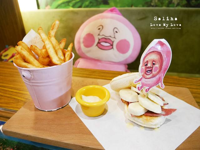 台北東區主題餐廳醜比頭的秘密花園輕食咖啡屁桃 (32)
