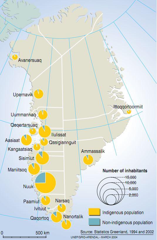 Greenland Indigenous Population Grid Arendal