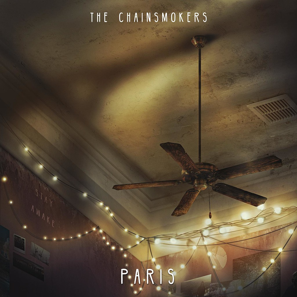 The Chainsmokers - capa Paris