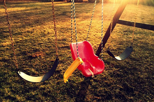 swings sunrise whitehouse station nj new jersey sunlight grass kids child swing three