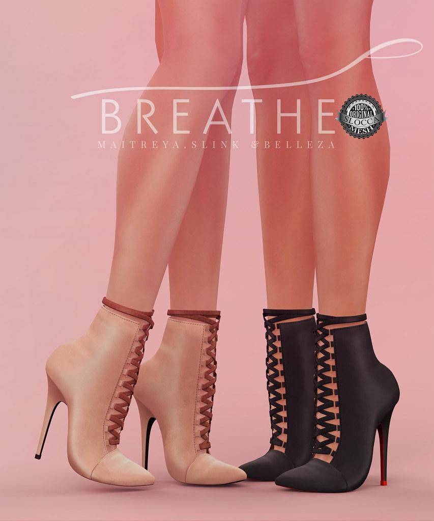 [BREATHE]-Chantal Heels - SecondLifeHub.com