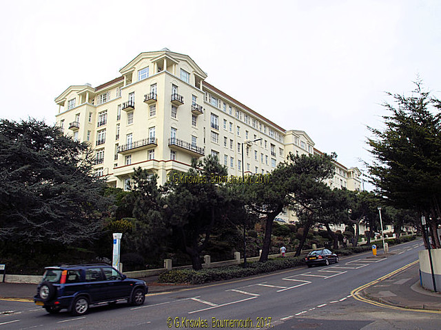 Bath Hill Court, In February 2017, Bath road, Bournemouth, Dorset, England.