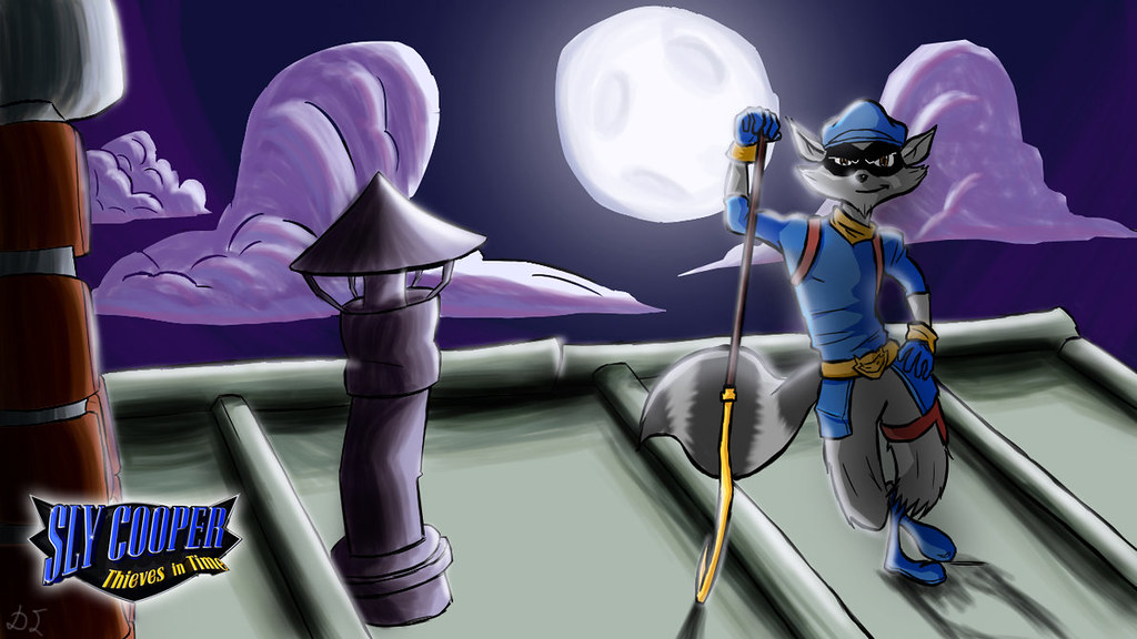 Sly Cooper Thieves in Time Wallpaper