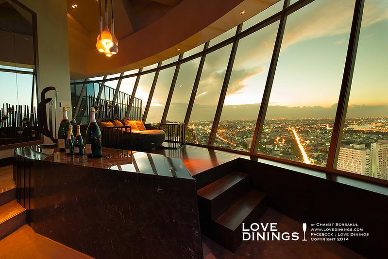 Rooftop Bar กรุงเทพ Three sixty Millennium Hilton_ (5)