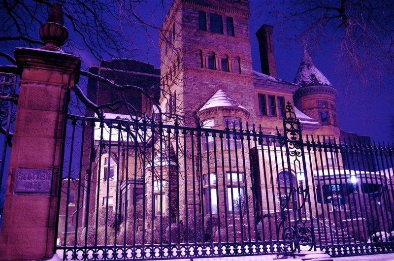 Crimson Peak filming locations Hamilton
