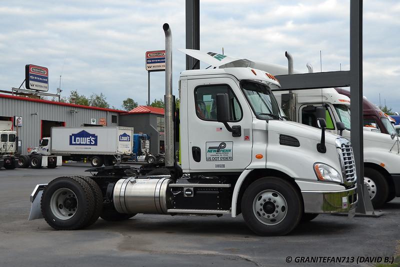New ltl equipment sightings for New penn motor express trucking