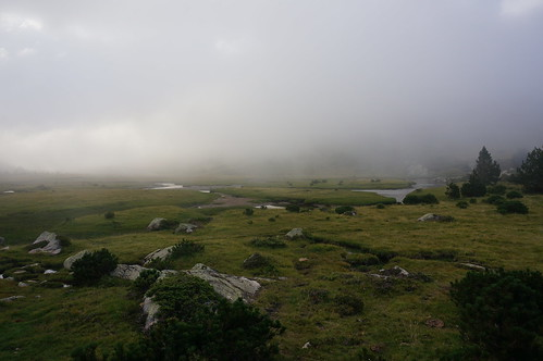 Cloudy weather on GR10