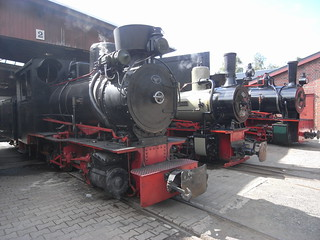 Grube Fortuna mine museum and railway, Solms.