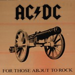 "AC/DC FOR THOSE ABOUT TO ROCK USA FOC12"" LP VINYL"