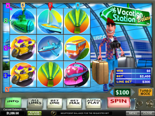 Vacation Station Deluxe slot game online review