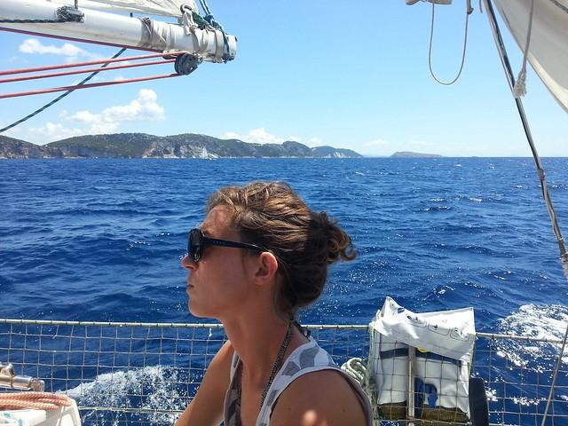 navigation dans les îles
