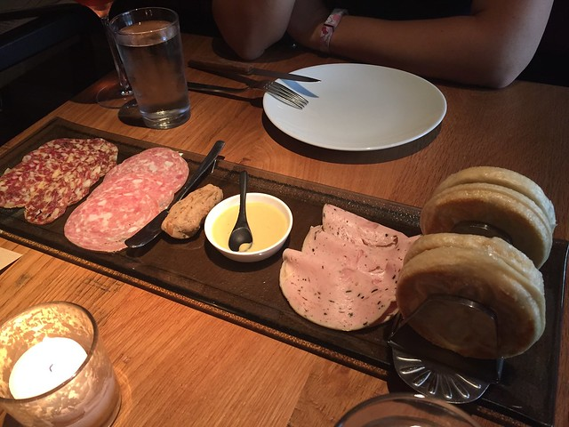 Salumi with a side of booze board - The Partisan