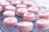 Pink Macarons with Vanilla Buttercream