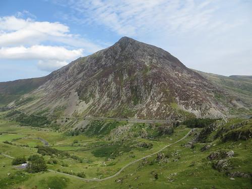 a valley peak
