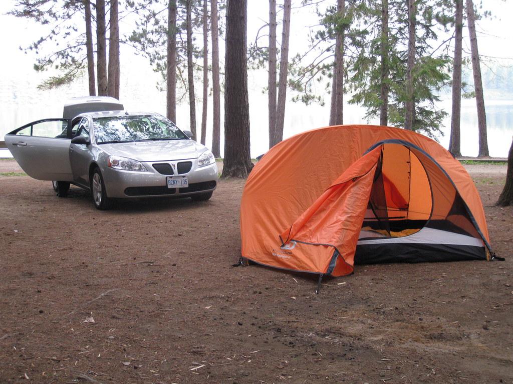 Algonquin camping spot