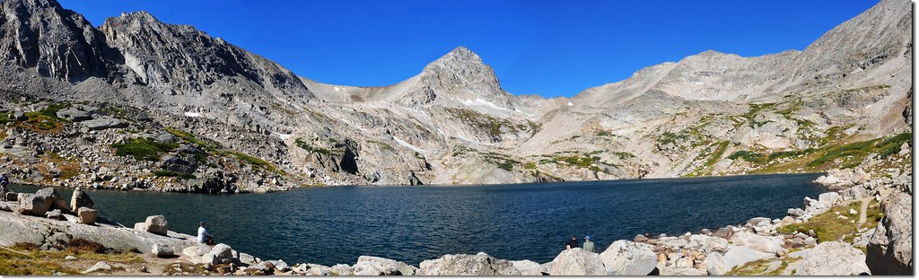 Panorama of Blue Lake 3
