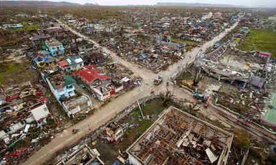 Guian After Yolanda - Courtesy - John Javellena