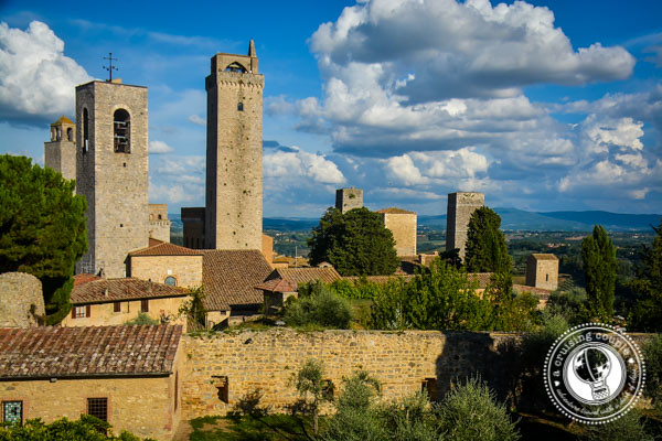 castel san gimignano Tuscany