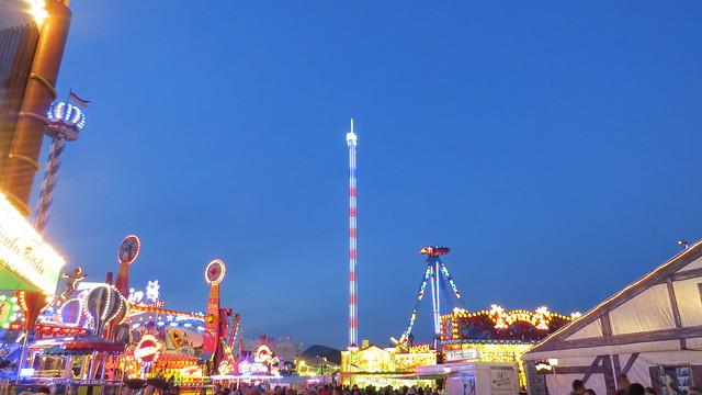 90 metre freefall tower