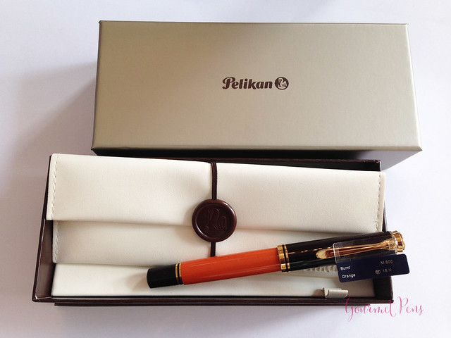 Review Pelikan Souverän M800 Burnt Orange Fountain Pen @AppelboomLaren (1)