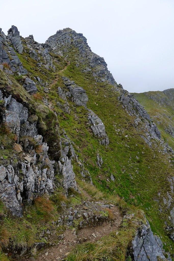 Pinnacles of Mullach Fraoch-choire