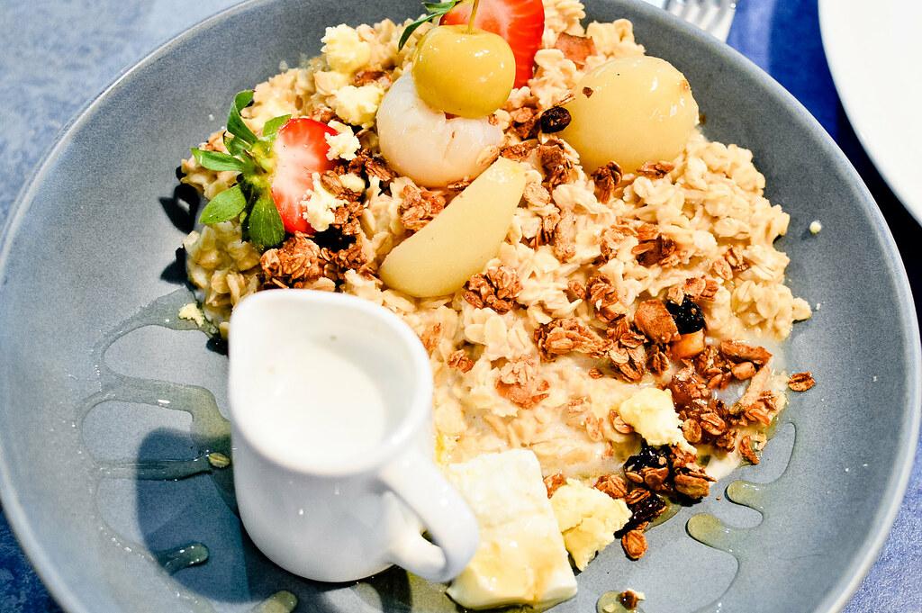 Oat Porridge, Providore, Marina Mirage