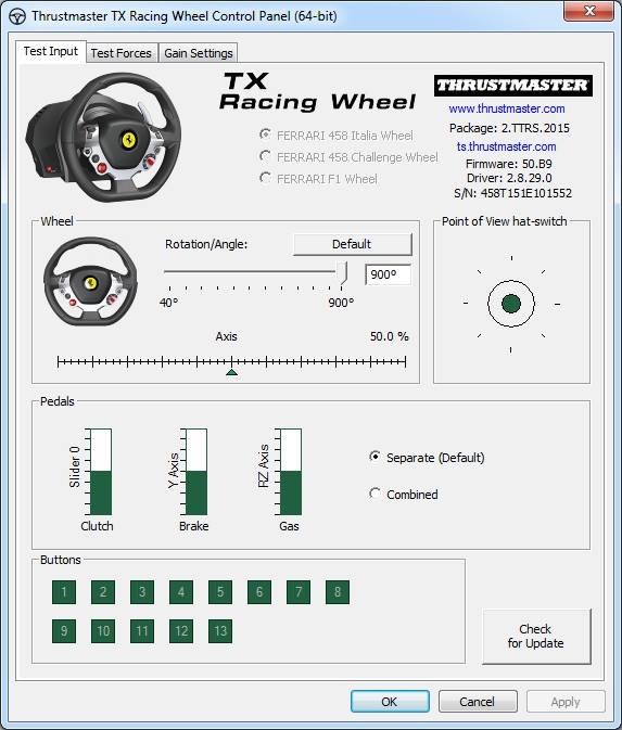 Thrustmaster Drivers