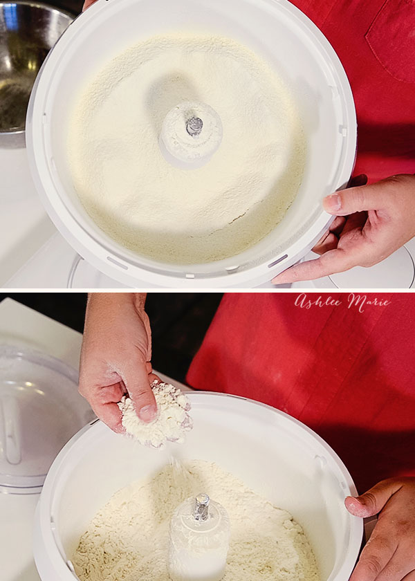 you want to sift your flour and corn starch at least 4 times to make homemade cake flour