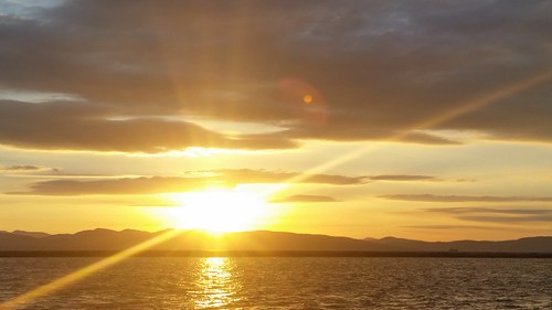Sunset on Lake Champlain - 20151011_175941