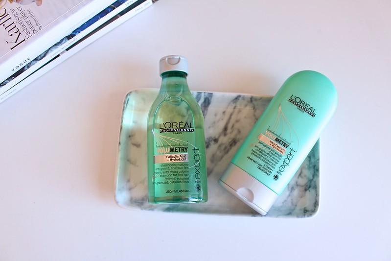 lorealvolumetryexpert, shampoo, conditioner, krystelcouture,