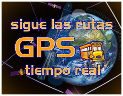 Seguir las Rutas por GPS