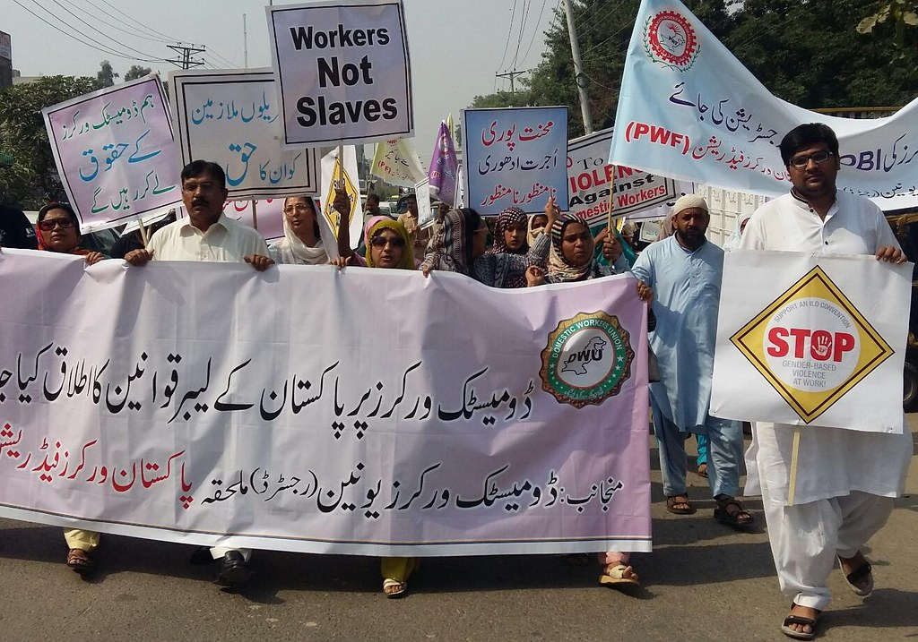 2015-10-7 Pakistan: Domestic workers fight for their rights