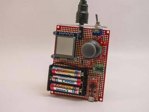 Arduino-RC Controller-front1