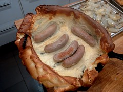 Er, that's not quite Toad In The Hole