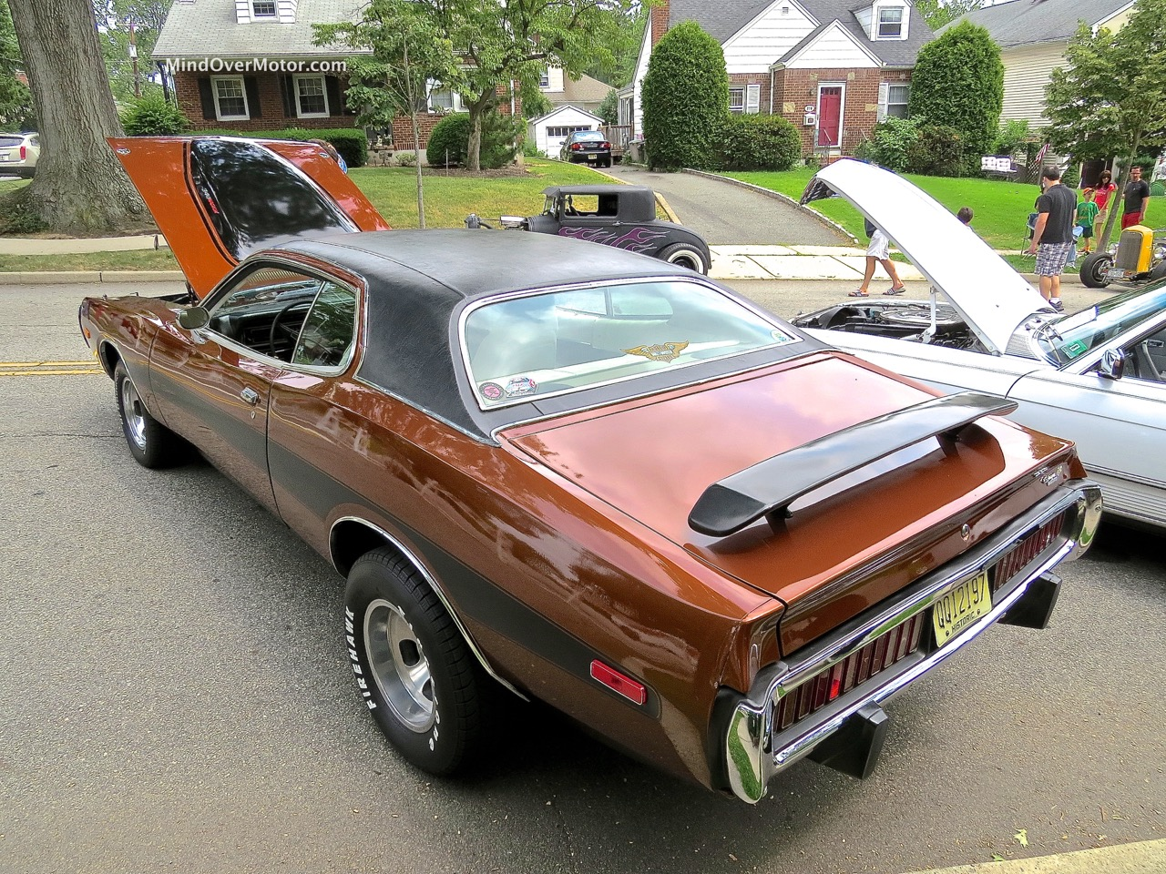 1974 Dodge Charger Rear