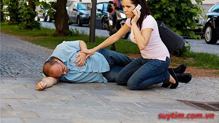 Đột quỵ tim là một trong những biến chứng của suy tim