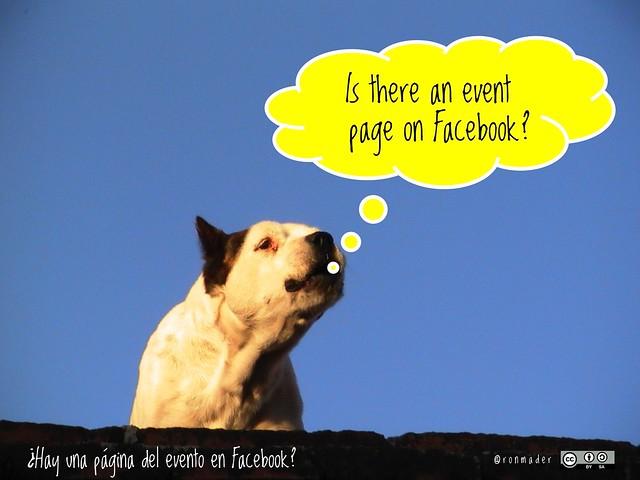 Is there an event page on Facebook? = ¿Hay una página del evento en Facebook? #roofdog