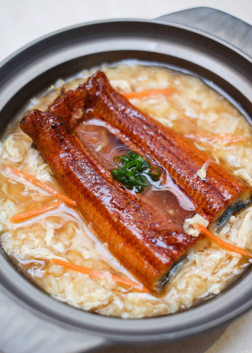 Xin Wang Hong Kong Café: Eel Hot Pot Porridge
